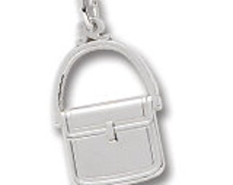 Sterling Silver Purse Charm by Rembrandt