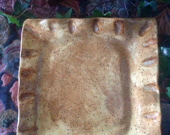 Stoneware Pottery Plate