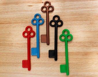The key as in the trails. Pack of 5