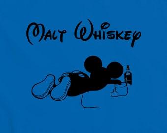 Malt Whisky T-Shirt - funny witty t-shirt geek comedy nerd humour Teesandthankyou