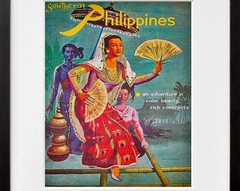 Philippines Travel Art Print Home Decor (ZT278)