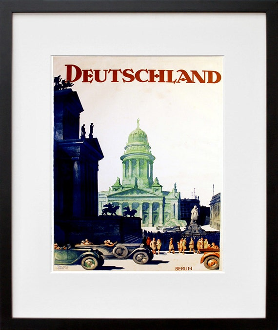 Germany Travel Poster German Art Print Home Decor Zt380