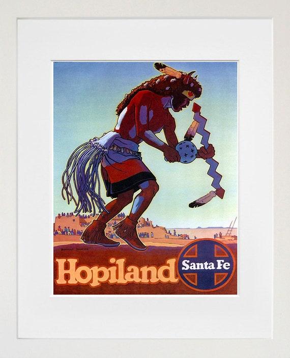 Native American Art Sign Wall Decor Travel Poster Print