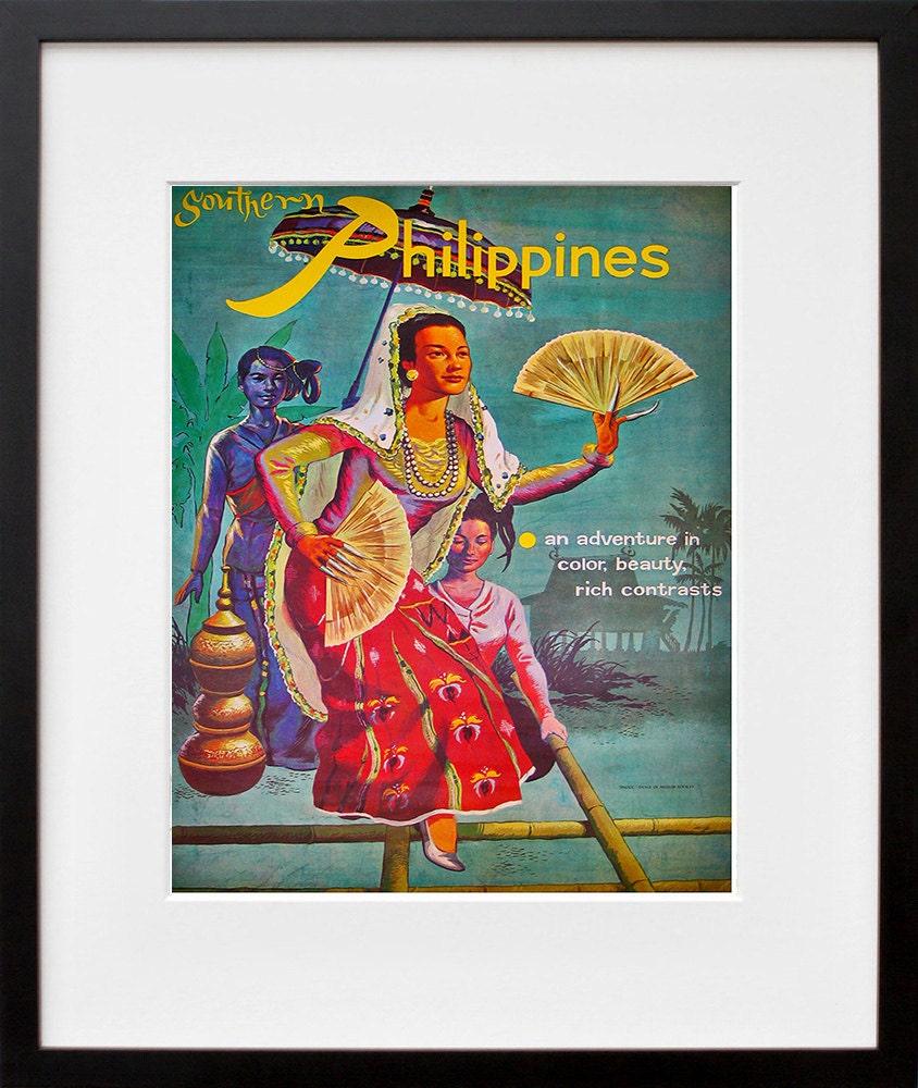 Philippines Travel Art Print Home Decor Zt278