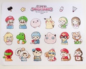 Super Smash Babies Stickers