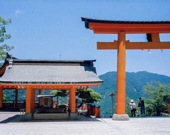 Tori Gate - Kumano Nachi Taisha Temple