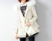 women dress wool coat wool jacket winter dress winter coat winter jacket(WD-002) - NiceDressstore