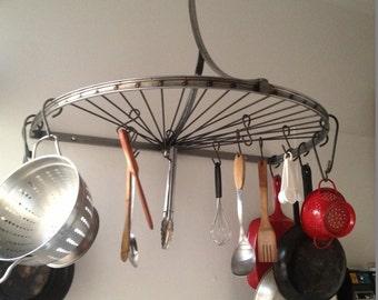 Bicycle Pot Rack.