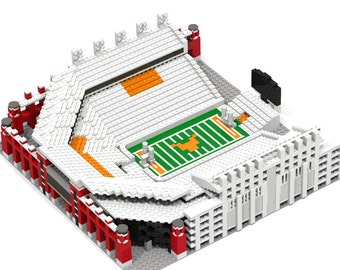 Texas Longhorns Darrell K Royal Memorial Stadium, Brick model