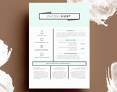 THE JACQUI HUNT • resume + cover letter package • microsoft word  •  free 2nd page!