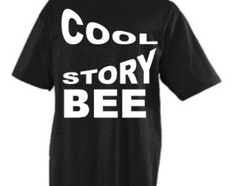 Black T-Shirts with white print that also comes in other color T-Shirts. 004