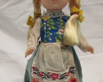 Collectable Doll - Holland - 1970's