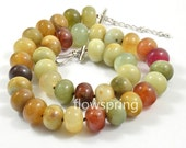 """18"""" to 20"""" 14mm Charm Luster Rondelle  Old Jade Beads Knotted  Choker Necklace Charm Jade Jewelry"""