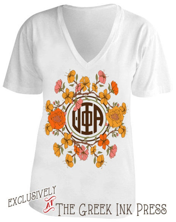 Items similar to the secret garden monogram design custom for Garden t shirt designs