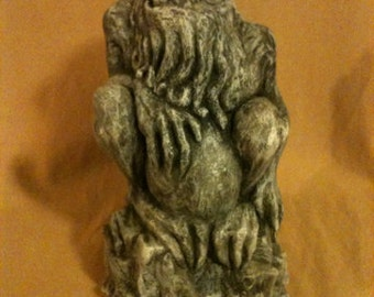Cthulhu Statue Prop LARP Great old one H.P. Lovecraft  Horror