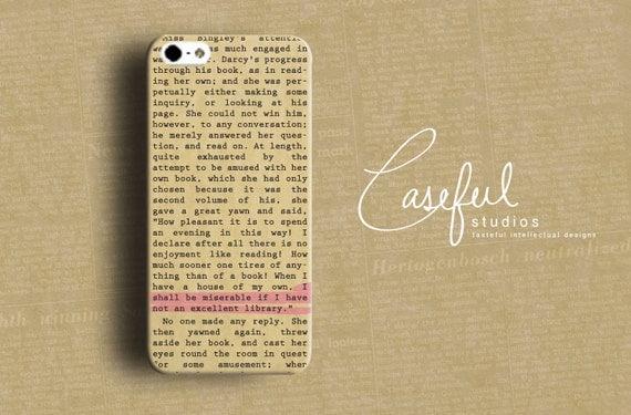 Capa de iPhone - Jane Austen