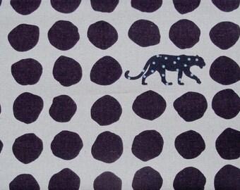 Echino Panther in Dark Purple by Etsuko Furuya - 1 yard