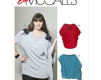 McCall's Sewing Pattern M6204 Misses' Women's and Tunics