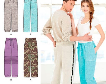 Simplicity Sewing Pattern 1326 Misses' and Men's Pants