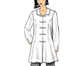 Butterick Sewing Pattern B6098 Misses' Button-Down Tunics