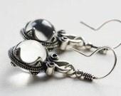 Viking time earrings from Gotland