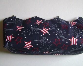 Patriotic Stars Interchangeable  Purse Cover
