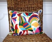 Otomi Mexican Pillow / Pair