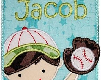 Baseball Boy Personalized Onesie/ T-Shirt