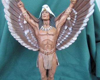 Southwestern Indian Warrior Angel