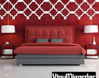 Wall Pattern Vinyl Wall Decal Or Car Sticker - Mvd009ET
