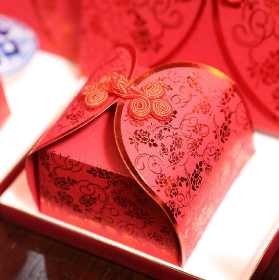 Typical Wedding Gifts: Wedding Favor Box Chinese Traditional Gift Jewelry By