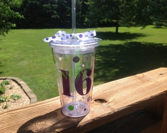 Sweet 16 Birthday Tumbler - Choose your colors!
