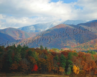 Autumn at Cades Cove Tennessee
