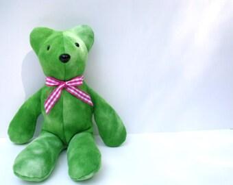 Fleece Teddy Bear/Green