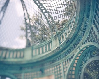 Fine Art Photography, Vintage Style Photography, Wall Decor, Architecture, Photography, Teal Decor, Aqua,Turquoise ,For Her, Wall Decor, Old