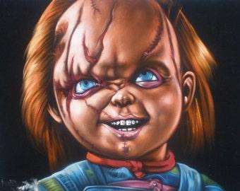 Evil Doll Etsy