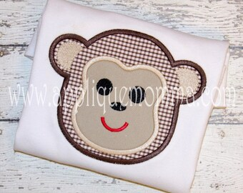 Monkey 2 Applique Design