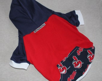 Cleveland Indians Dog Hoodie / Personalization Available!