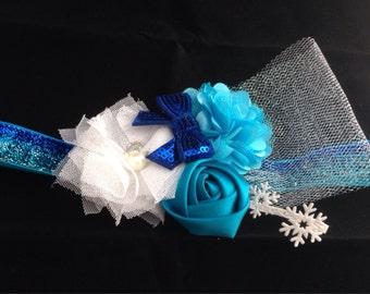 Frozen Inspired Baby Headband- Elsa