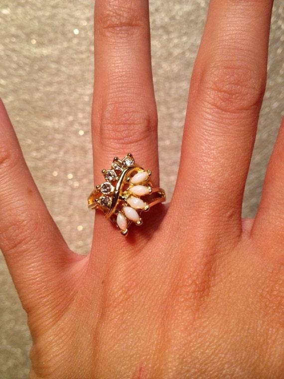 Uncas Diamond Ring