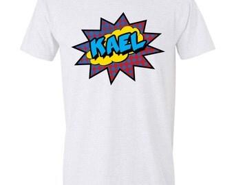 Super Hero Kids shirts