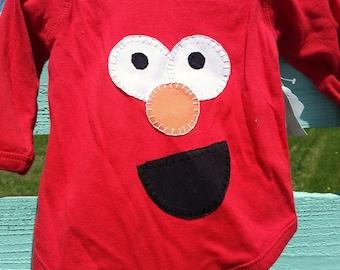 Elmo/Sesame Street Onesie Bodysuit