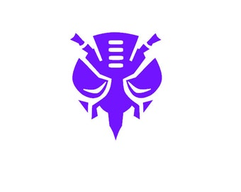 Predicon Vinyl Car Decal, Transformers, Megatron, Transformers Sticker, Decal, Multiple Choices, Window Decal, Beast Wars, Beast Machines