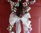 Bunny Wreath - Easter Wreath - Grapevine Wreath - Spring Wreath-Easter Bunny-Spring outdoor decoration