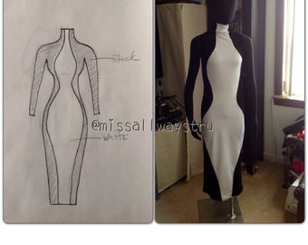 Hourglass dress (in many sizes)