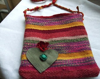 sweet handwoven purse