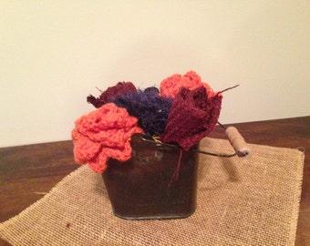 Fabric Flower Centerpiece or Bouquet