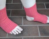 Sock Knitting Pattern Yoga Dance Sock Women's Yoga Socks Yoga Sock Pattern Knit Yoga Socks Toeless Socks