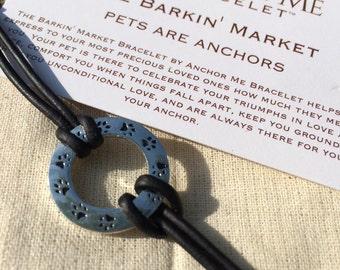 The Barkin Market , Anchor Me Bracelet