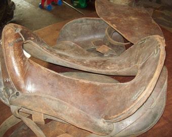 Antique Officers Saddle